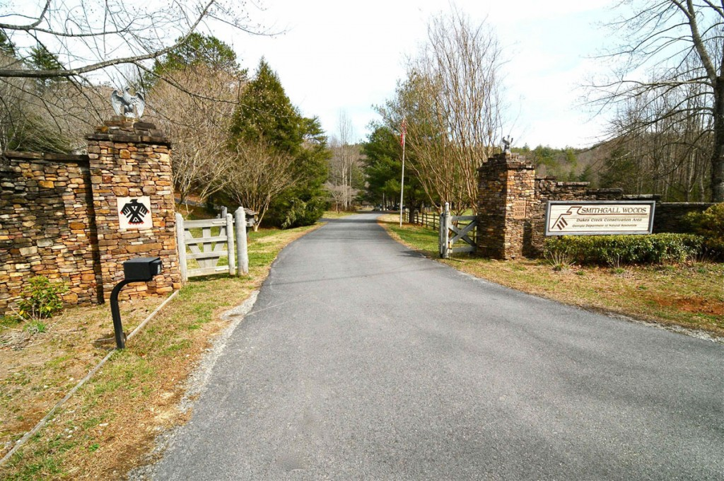 Smithgall Woods Entrance